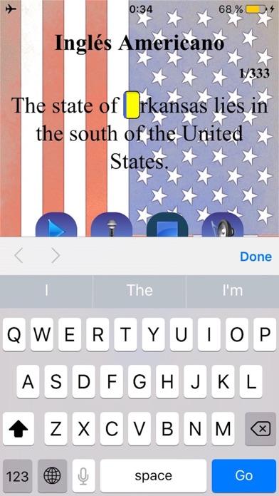 Inglés Americano Sonidos screenshot two