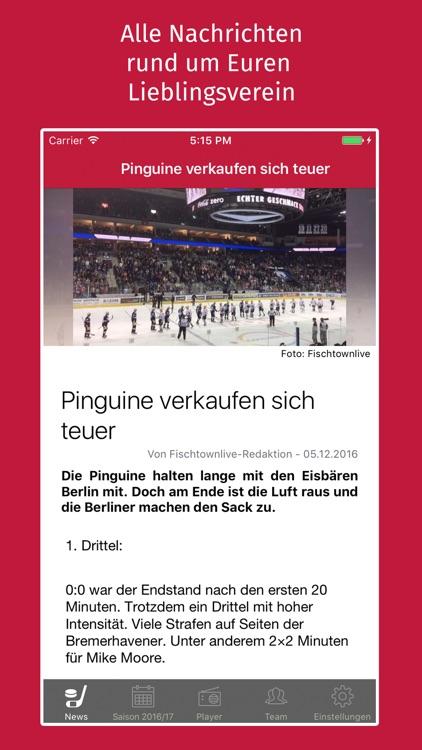 Fischtownlive - Gemeinsam Eishockey erleben screenshot-4