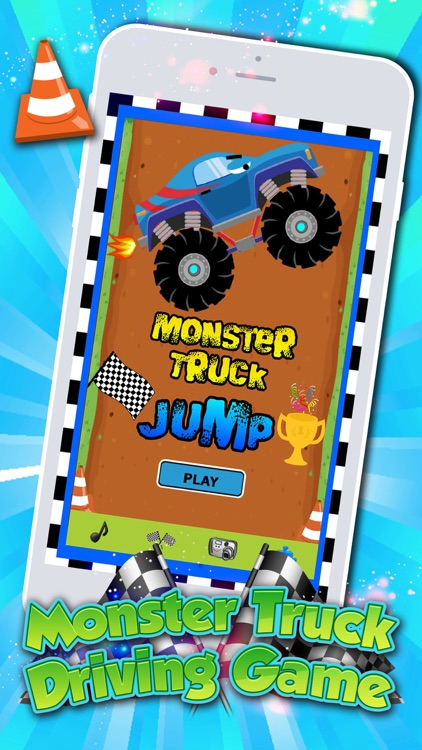Monster Trucks! Fun 2 3 4 year old games for kids screenshot-1