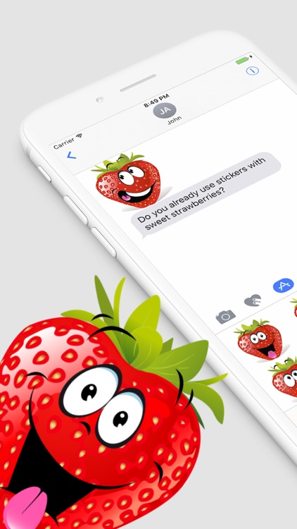 Strawberry SP emoji screenshot-0