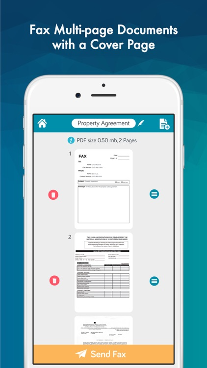 FAX from iPhone Pro - Send Fax App by Easy Fax screenshot-4