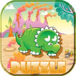 Dinosaur Puzzle Game