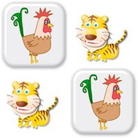 Codes for Animals matching memory game for kids Hack