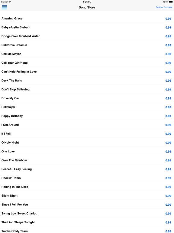 Sing Harmonies iPad
