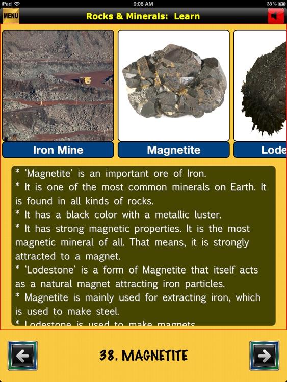 easyLearn Rocks & Minerals | Earth Science HD screenshot-4