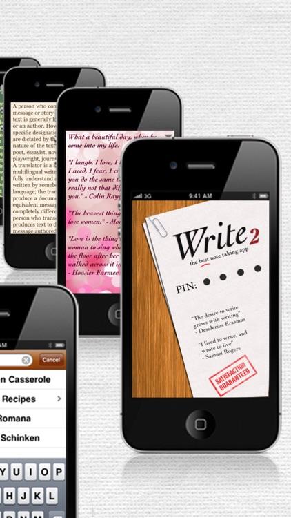 Write 2 Lite - Note Taking & Writing screenshot-3