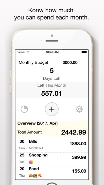 Monthly Budget Planner + Spending Expense Tracker! screenshot-0