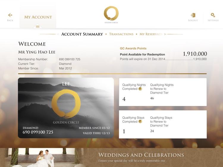 Shangri-La Hotels & Resorts for iPad