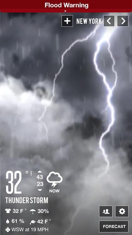 Clear Day® - Weather HD Lite screenshot-3