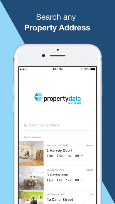Property Data screenshot one