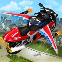 Fast Motorbike Robot Simulator: Flying Drone