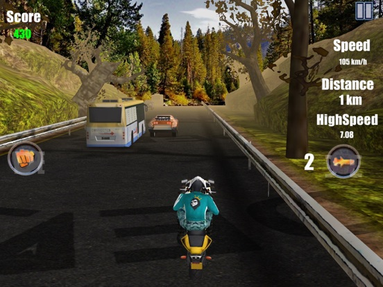 Road Attack 3D Moto Bike Rally Racing Free Games | App Price