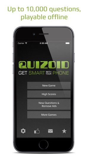 Quizoid: Offline Multiple-Choice Quiz w Voice Over on the App Store
