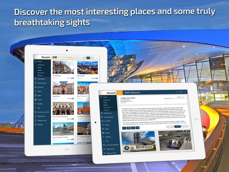 Munich Travel Guide & offline city map