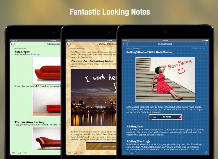 NoteMaster for iPad - amazing notes screenshot-3