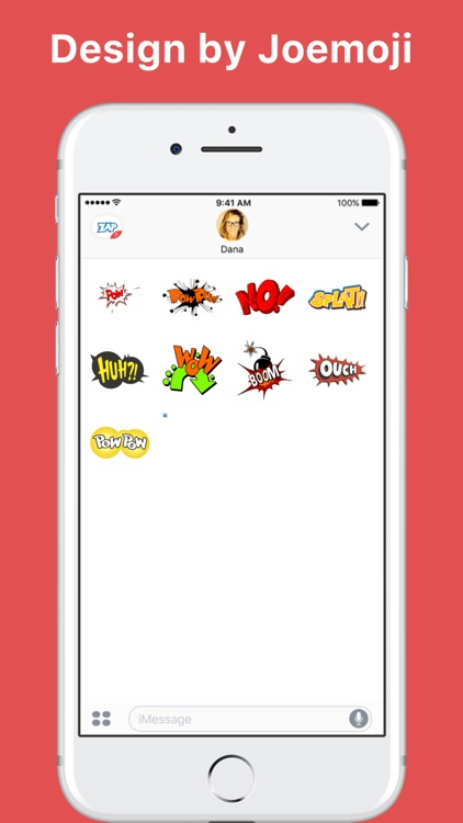 Joemoji: Action! stickers by Joemoji