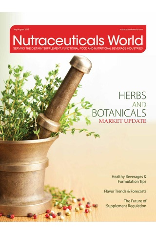 Screenshot of Nutraceuticals World