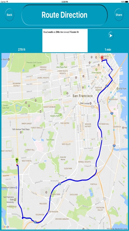 San Francisco CA Offline City Maps with Navigation screenshot-4