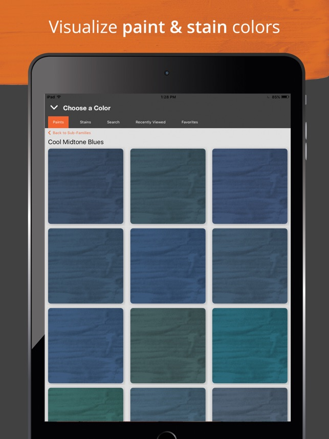 Project ColorTM The Home Depot On App Store