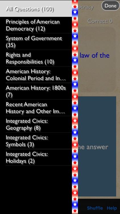 US Citizenship Test 2017 Edition Premium