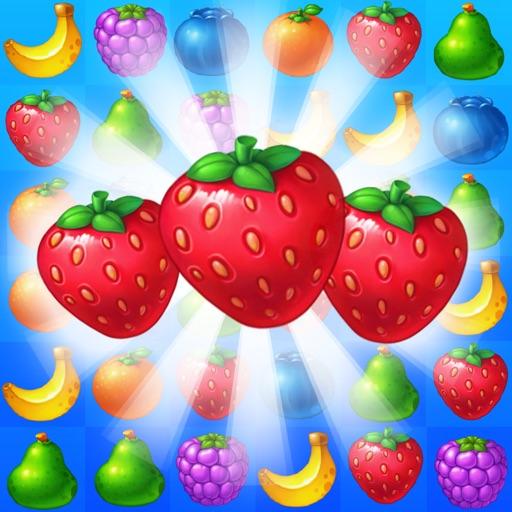 Fruit Taste Mania - Yummy Fruits Drop icon