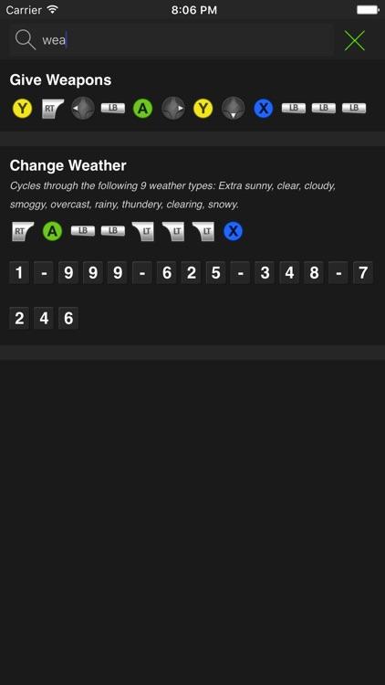 Cheats for GTA V - All Series Codes screenshot-3