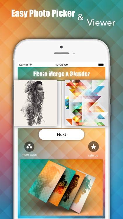 Photo Merge & Blender - Superb Merger Editor
