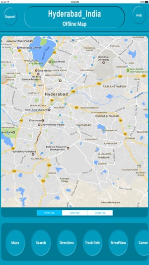 Hyderabad india offline city maps navigation on the app store screenshots gumiabroncs Choice Image