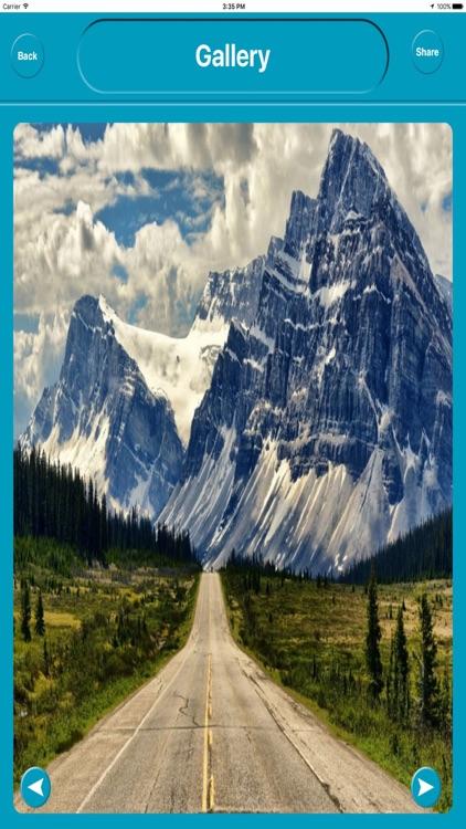 Banff National Park Offline City Maps Navigation screenshot-4