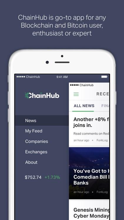 ChainHub — Blockchain and Bitcoin News Aggregator screenshot-3