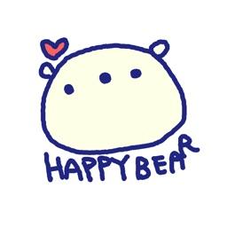 Happy Bear Stickers!!
