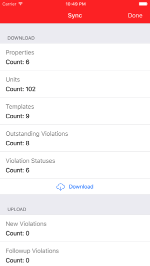 Condo Violations on the App Store
