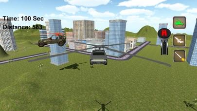 超 飞行 汽车 赛车 游戏 App 截图
