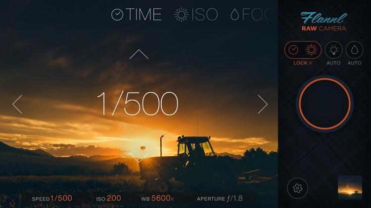 Flannl RAW Camera screenshot-0
