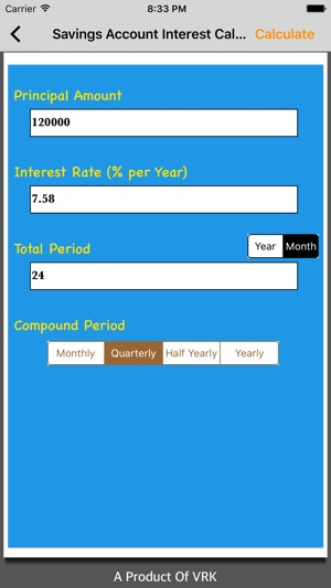 interest calc on the app store