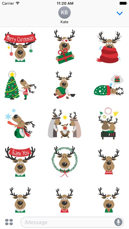 Christmas Stickers from Images