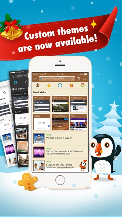 Puffin Browser Pro review screenshots