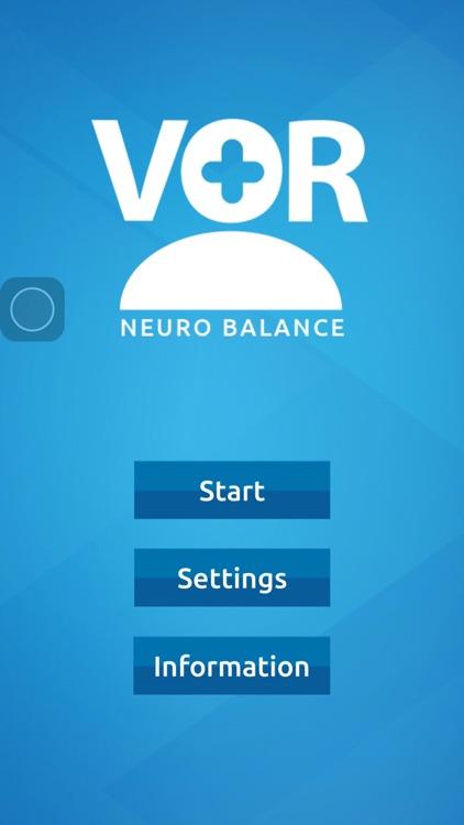 VOR Neuro Balance