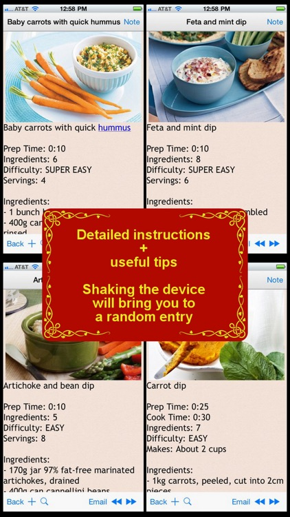 250 Delicious Dip Recipes screenshot-0