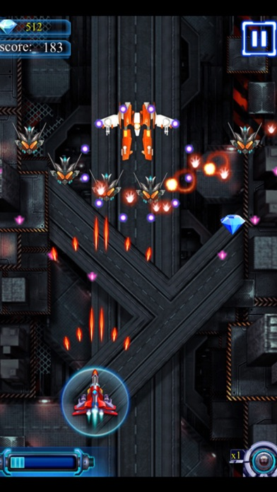 Sky Space Attack Fighter screenshot one