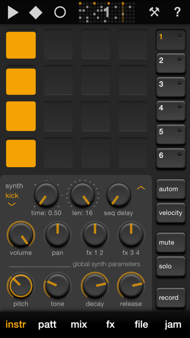 Elastic Drums Screenshot 2