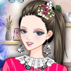 Activities of Purple Sky: Cinderella Makeup. Dressup a princess