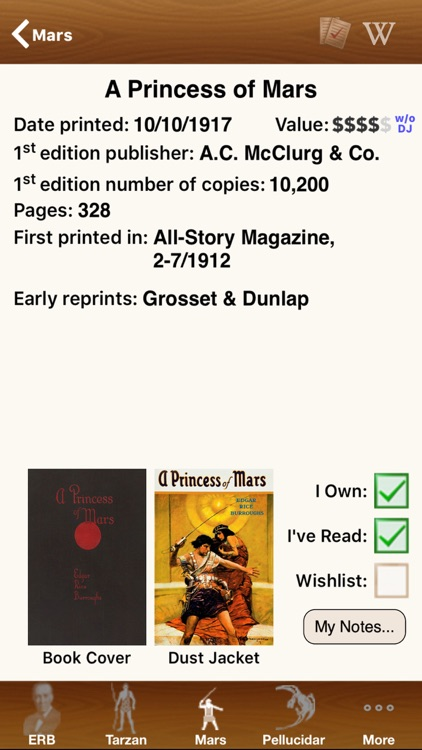 Edgar Rice Burroughs Editions