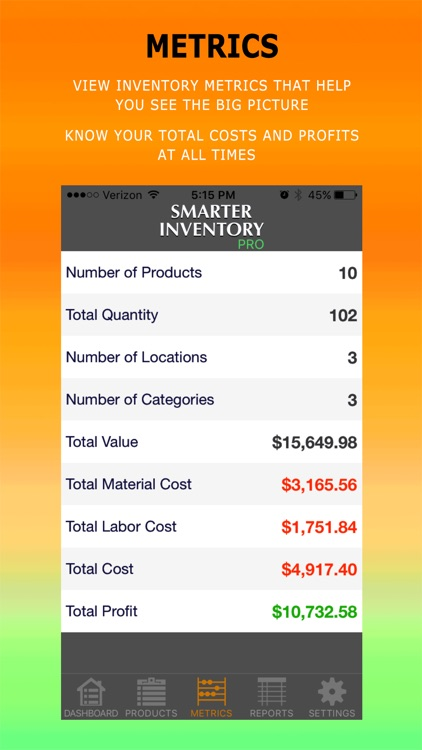 Smarter Inventory: Manage Products, Goods & Assets