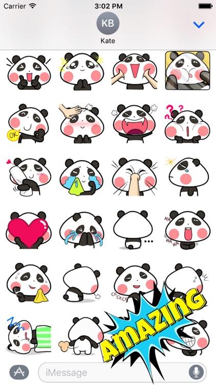 Baby Panda Emoji screenshot-3