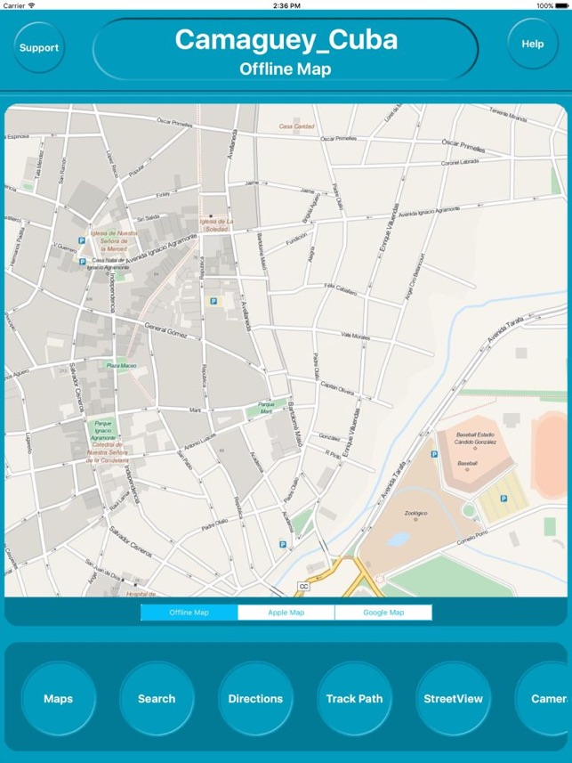 Camaguey Cuba Offline Map Navigation GUIDE on the App Store
