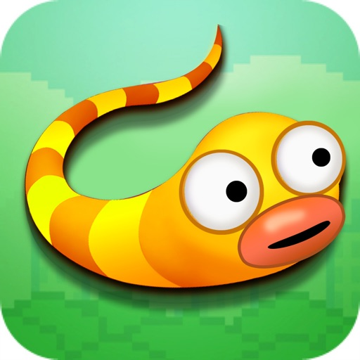 Flappy Slither 3D - Color Worm Rush