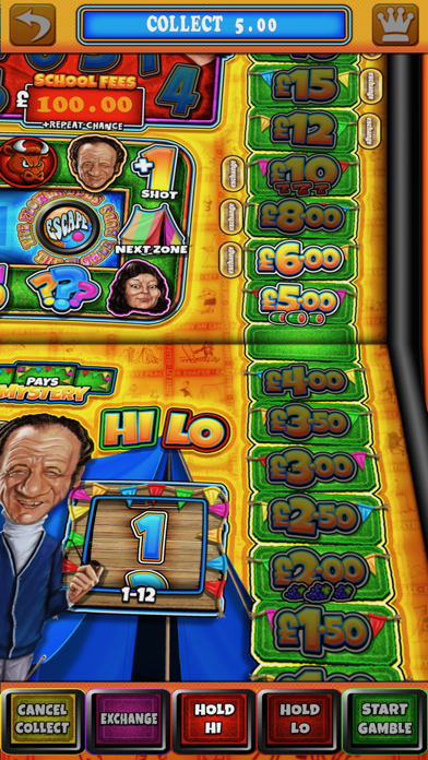 Carry On Camping - The Real Pub Fruit Machine screenshot two