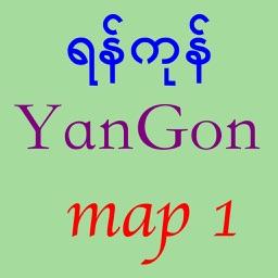 asdYangon Map
