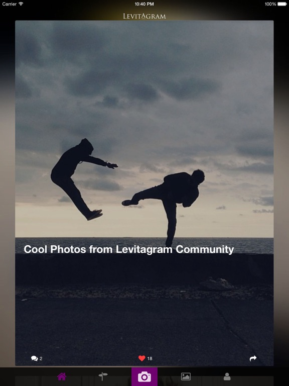 Levitagram Screenshot
